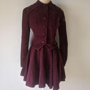 Vintage 40s handmade majorette uniform